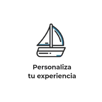Personaliza tu paseo en barco