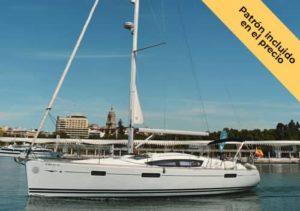 Alquilar velero para 12 personas en Benalmádena