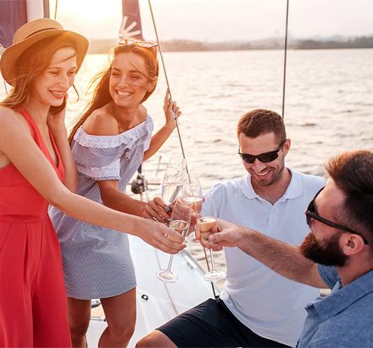 Teambuilding en barco
