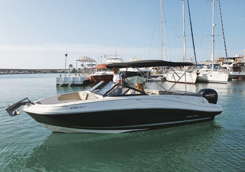Alquilar barco para 8 personas en Fuengirola