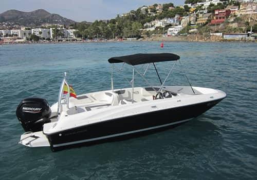 Alquiler lancha para 6 personas en Málaga