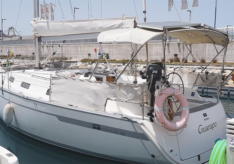 Alquilar velero para 9 personas en Málaga