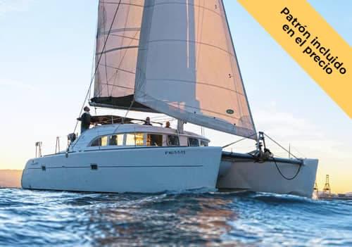 Alquilar catamarán en Málaga para 10 personas